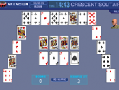игра Crescent Solitaire