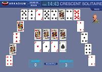 игра Crescent Solitaire