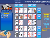 игра Shift poker solitaire