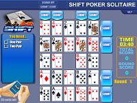 игра Shift poker solitaire