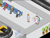 игра Самоубийство в аэропорту
