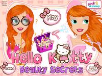 игра Секреты красоты от Хелло Китти