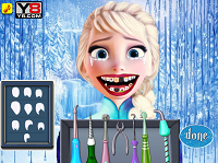 игра Elsa Dentist Care (Дантист)