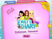 игра Emily's Diary Bridesmaids Photoshoot