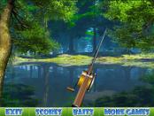 игра Forest lake fishing (Веселая рыбалка)