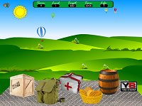 игра Боевые запасы на парашютах