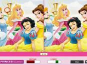 игра Найди отличия - принцесса Дисней