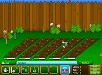 игра Прикольный сад