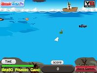 игра Бен 10 - Рыбалка