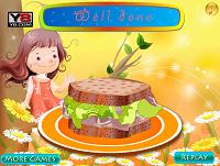 игра Декор. Вкусный бутерброд