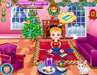 игра Малышка Хейзел и Рождество