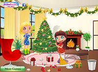 игра Очистка Санта