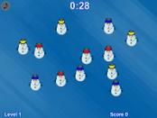 игра Снеговик матча