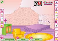 игра Украшение комнаты