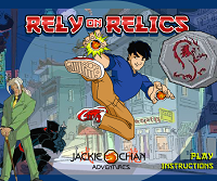 игра Jacky Chan - Rely On Relics