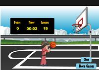 игра Бакуган играет в баскетбол
