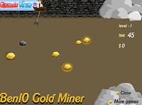 игра Бен 10 - Золотая шахта
