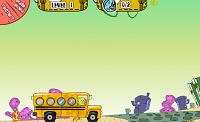 игра Губка Боб. Школьный автобус