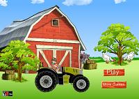 игра Дэн Бакуган на тракторе