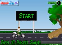 игра Мотогонки Бен 10