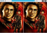 игра Найди отличия - Гарри Поттер