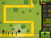 игра Оборона башни Человечки-Палочки