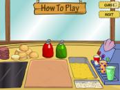 игра Спанч Боб готовит кушать