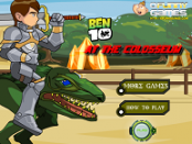 игра Ben 10 at the Colosseum