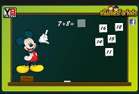 игра Микки Маус - обучение математике