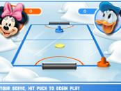игра Микки и Друзья - Аэрохоккей