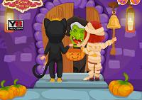игра Хэллоуин привидение