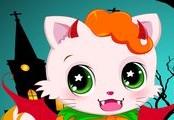 игра halloween kitty cat